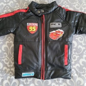 Disney Cars Boys/Kids Jacket Rally 95 Renegade - Size 6 - black & red